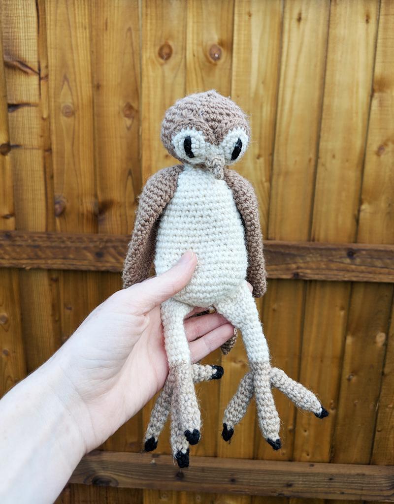 Amigurumi Pattern Crochet Barn Owl DIY Digital Download   Etsy   1024x800
