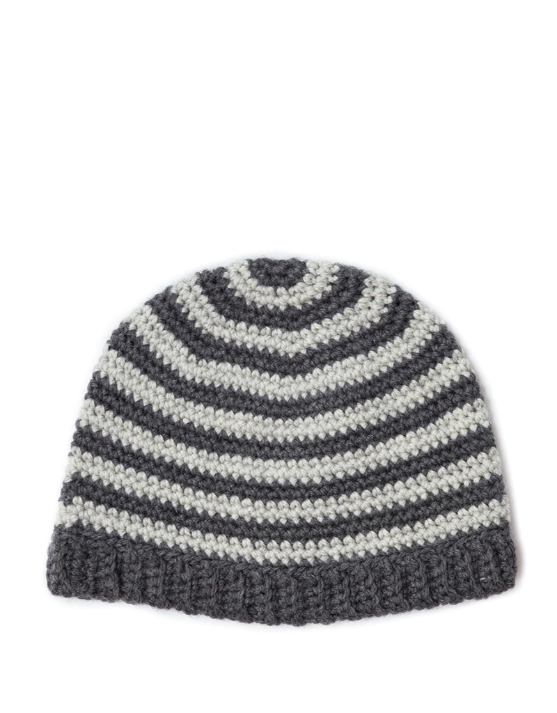 FREE Crochet Striped Hat