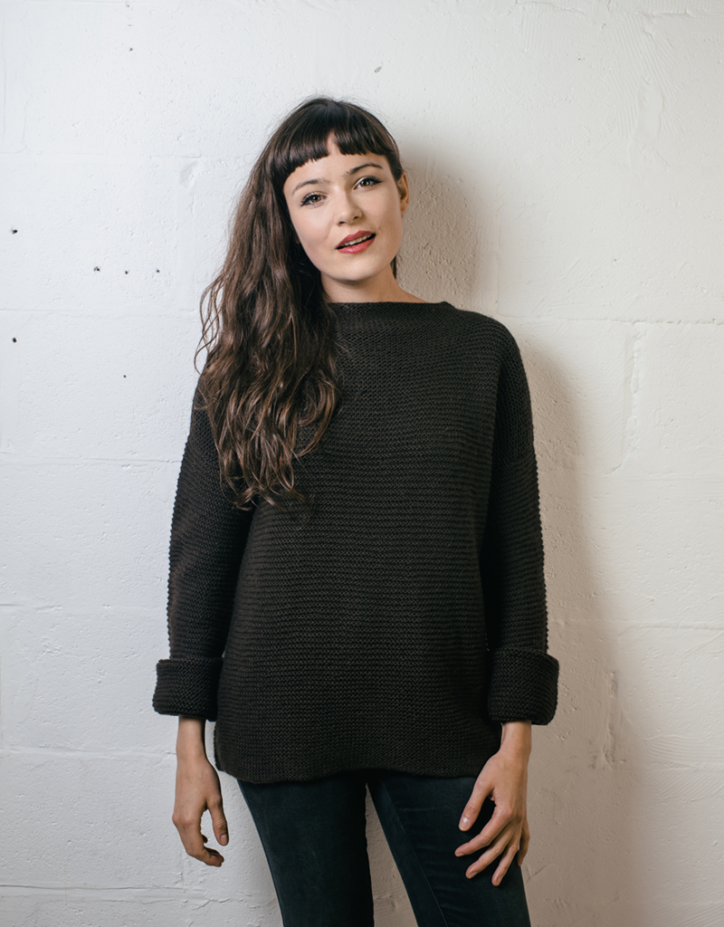 beginner knitting pattern jumper sweater