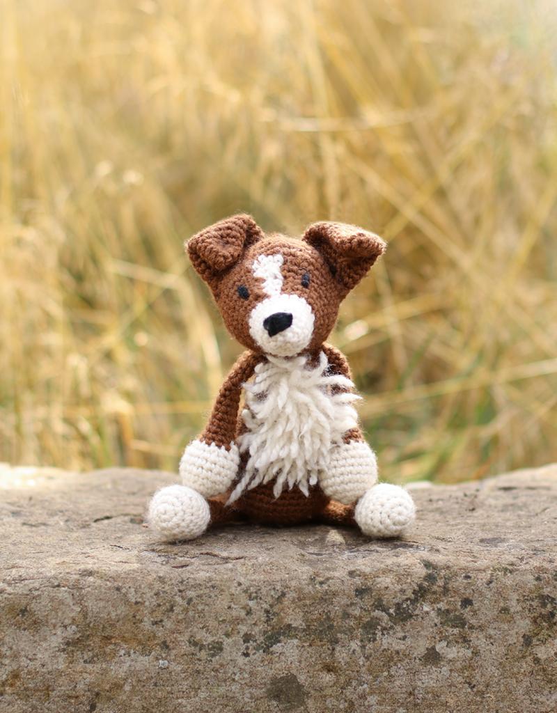 Crochet Border Collie Amigurumi Dog Part 2 of 3 DIY Tutorial - YouTube | 1024x800