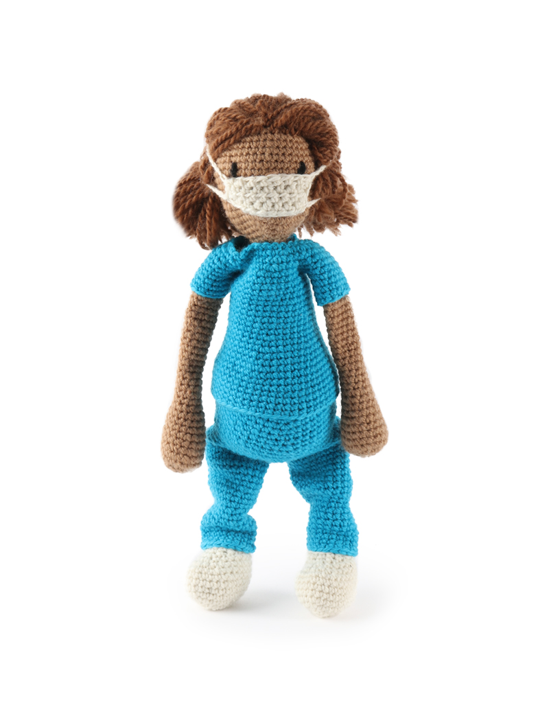 Crochet doll doctor | Crochet Toys - Author's crochet toys & patterns | 1024x800