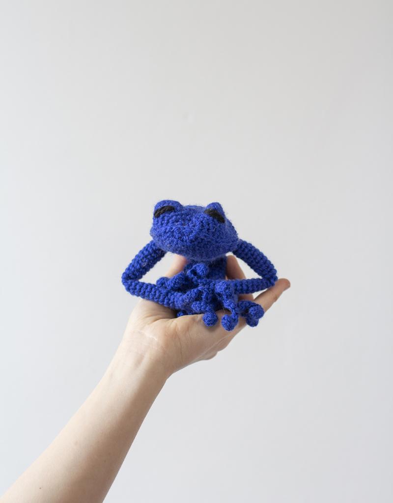 Free crochet pattern: Small tree frog // Kristi Tullus (sidrun ... | 1024x800