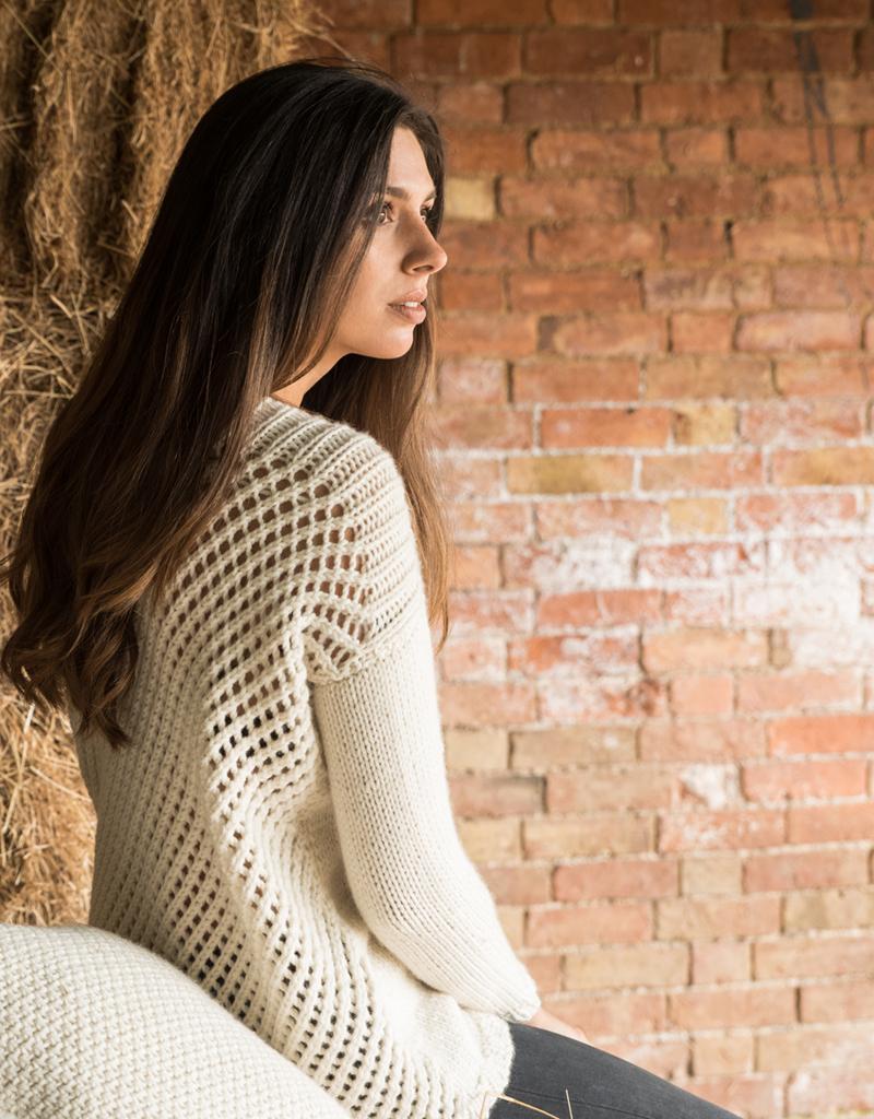 Sweater Knitting Kit British Wool Yarn And Sweater Knitting Pattern