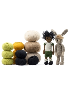Mini Doll Crochet Bundle