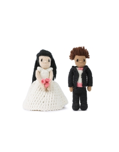 Mini Wedding Dolls - Dress and Suit