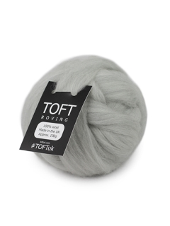 Silver Roving 100g