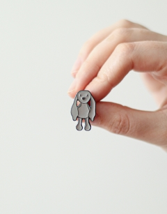 Limited Edition Emma the Bunny Enamel Pin