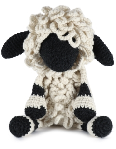 Giant Lisa the Valais Black Nose Sheep