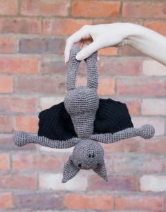 Crochet Clarence the Bat Sat 2nd March (AM)