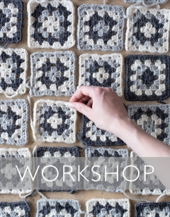 Learn to crochet: Granny Squares Saturday 6th June (PM)