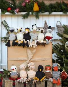 Mini 12 birds of Christmas Bundle