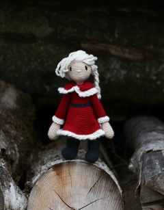 Mrs Claus doll
