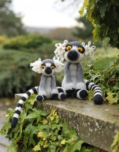 Large Lionel the Ring Tailed Lemur