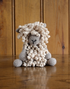 Seth the Wensleydale Sheep