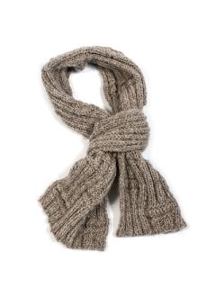 Scarf Knitting Kit British Alpaca Wool Yarn Scarf Knitting Pattern