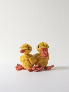 Learn to Crochet: Geraldine the Duck Sun 12th May (PM)