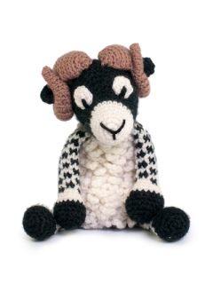 Large Dominic the Swaledale Sheep