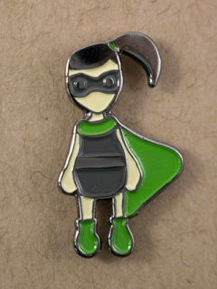 Superhero Enamel Pin