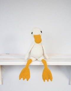 Learn to Crochet: Geraldine the Duck Wednesday 14th August (PM)