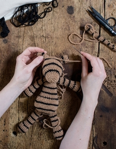 Sewing up your Edward's Menagerie Animal: Friday 6th September (PM)