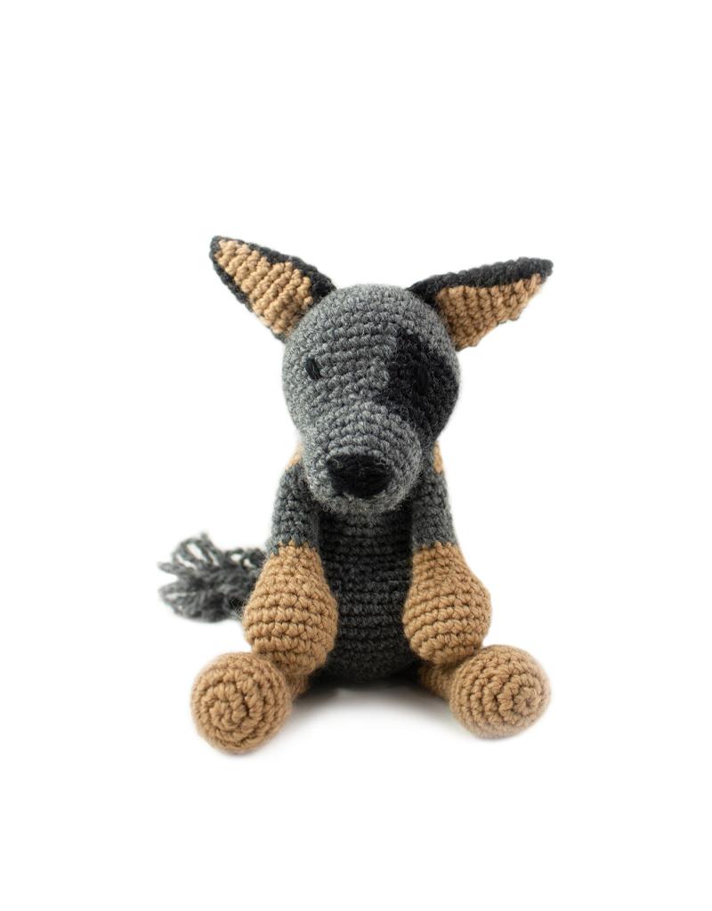 Amigurumi Husky, dog toy: Amazon.co.uk: Handmade | 534x400