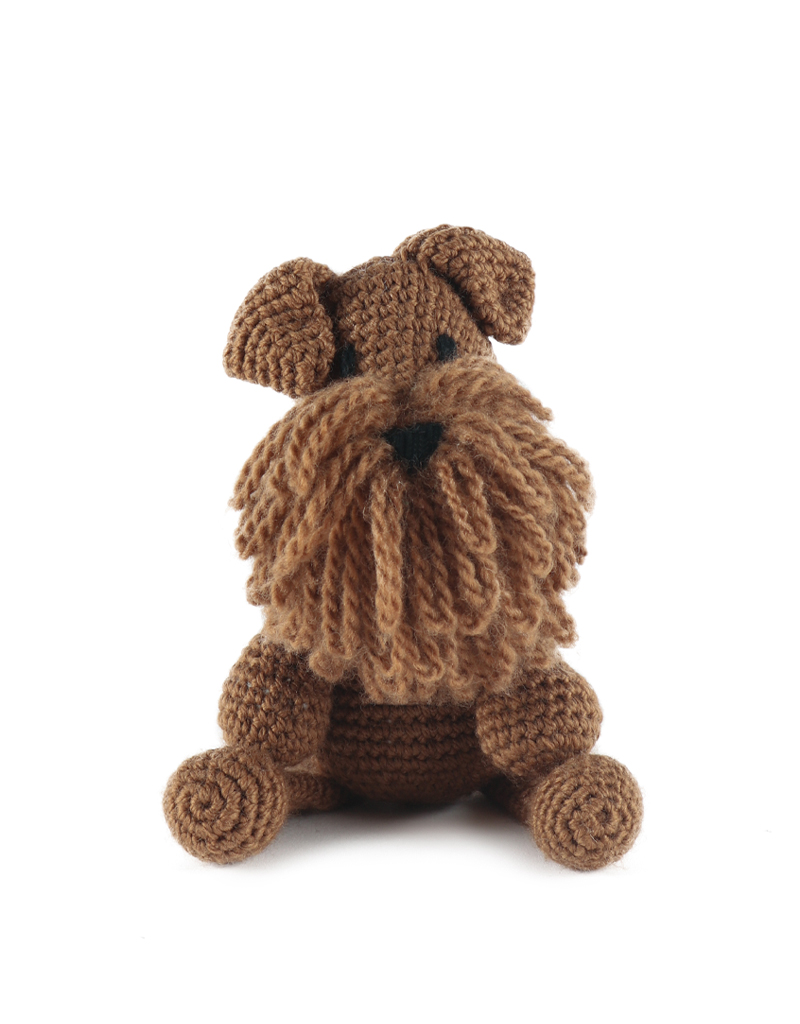 Amigurumi Crochet Dog Scottish Terrier Free Pattern - Amigurumi ... | 534x400