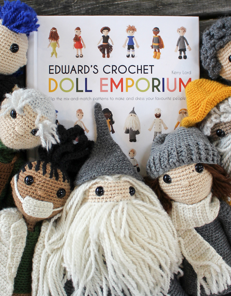 Lovable Amigurumi Toys: 15 Doll Crochet Projects by Lilleliis ... | 1024x800
