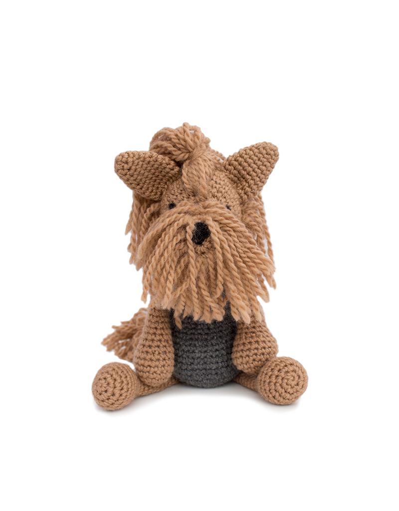 Amigurumi Crochet Yorkshire Terrier Dog Free Pattern - Amigurumi ...   534x400