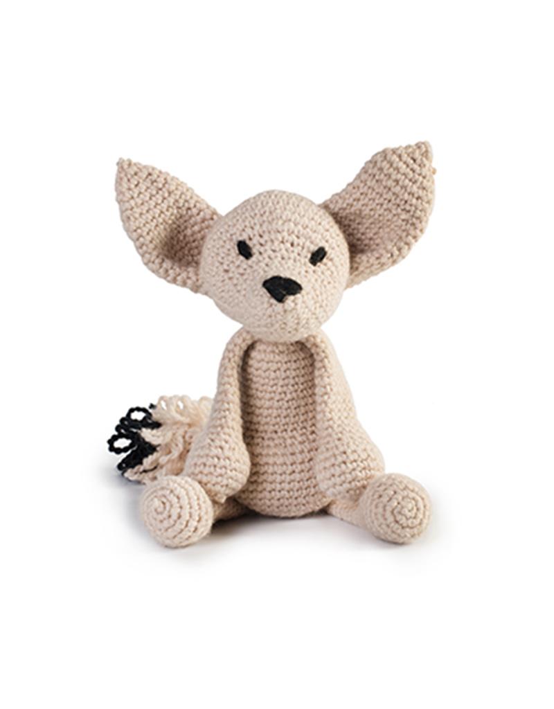 60c82917d989fc Learn to Crochet Loop Stitch: Stephanie the Fennec Fox Sat 12th January (PM)