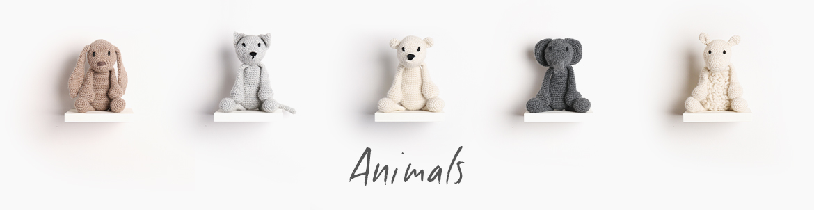 Edward's Menagerie Index Crochet Animals TOFT