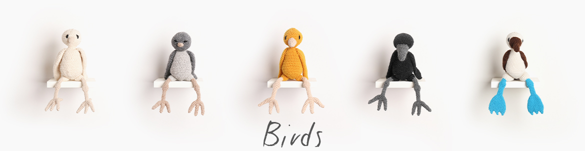 Edward's Menagerie Index Crochet Birds TOFT