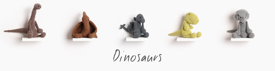 Edward's Menagerie Index Crochet Dinosaurs TOFT