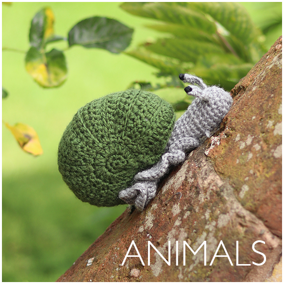 Kerry Lord's Edward's Menagerie Crochet Animal Patterns
