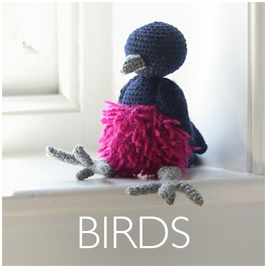 Bird Crochet Patterns by Kerry Lord
