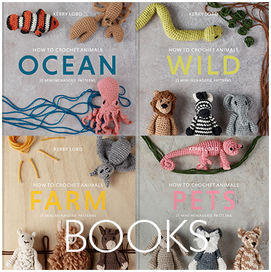Pre-Order Mini Menagerie Books by Kerry Lord