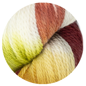 TOFT hand dye yarn batch 000007