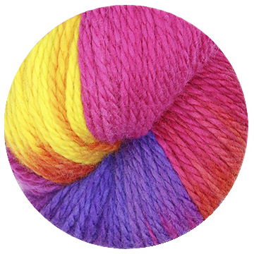 TOFT hand dye yarn batch 000010