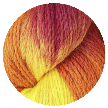 TOFT hand dye yarn batch 000013