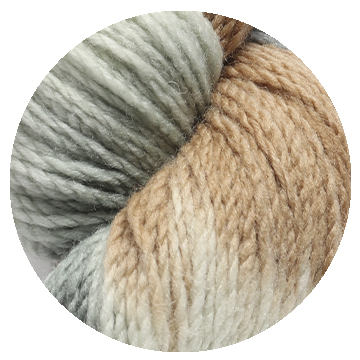 TOFT hand dye yarn batch 000016
