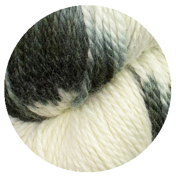 TOFT luxury hand dyed big cat snow leopard yarn in DK