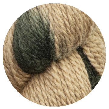 TOFT luxury hand dyed big cat tiger yarn in DK