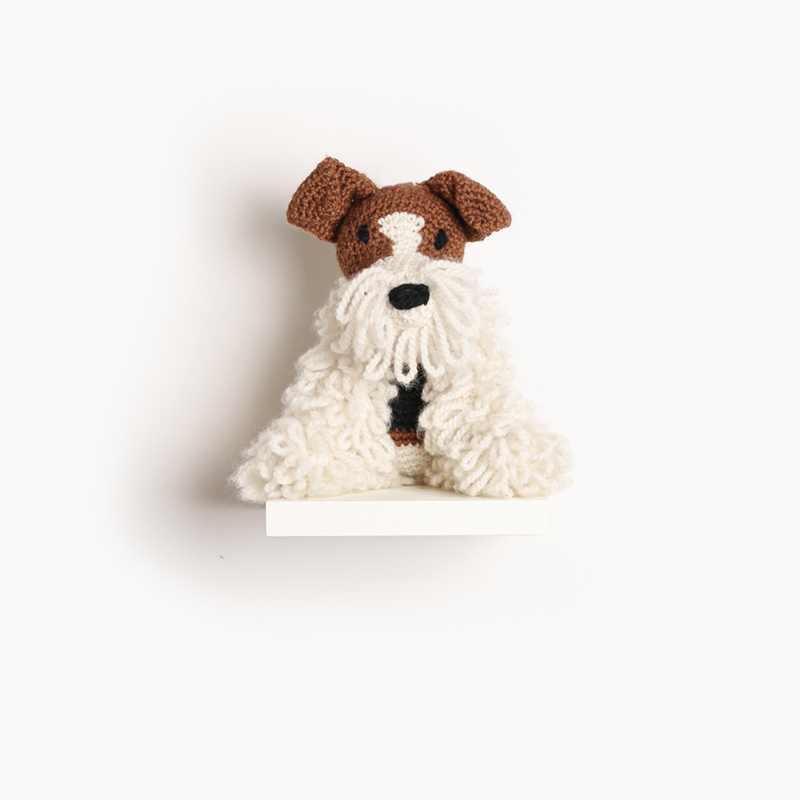 toft brandon the wire fox terrier amigurumi crochet animal