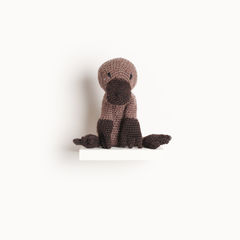 platypus crochet amigurumi project pattern kerry lord Edward's menagerie