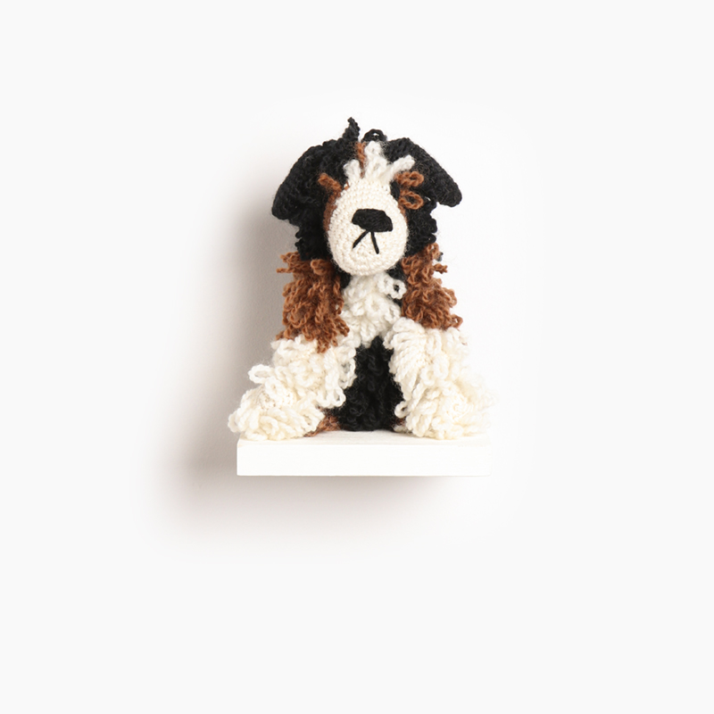 bernese, mountain, dog, eds animals, edwards crochet, edwards menagerie, kerry lord