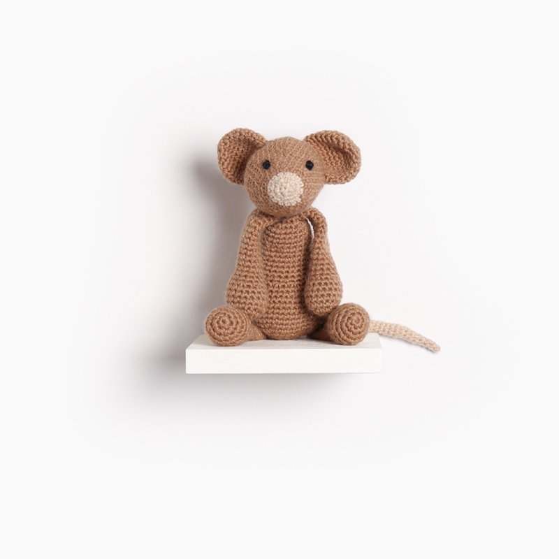 mouse crochet amigurumi project pattern kerry lord Edward's menagerie