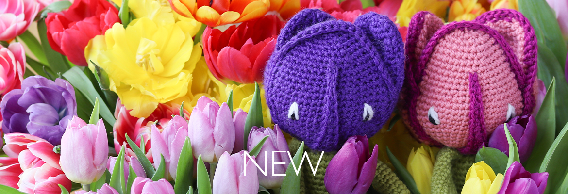 New Crochet Tulip Kits from TOFT