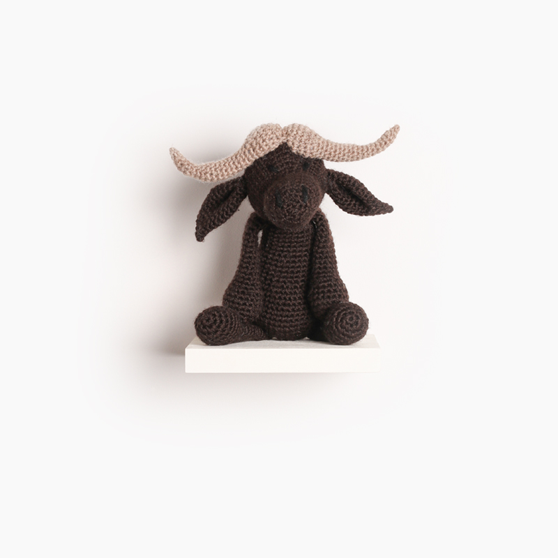 buffalo crochet amigurumi project pattern kerry lord Edward's menagerie