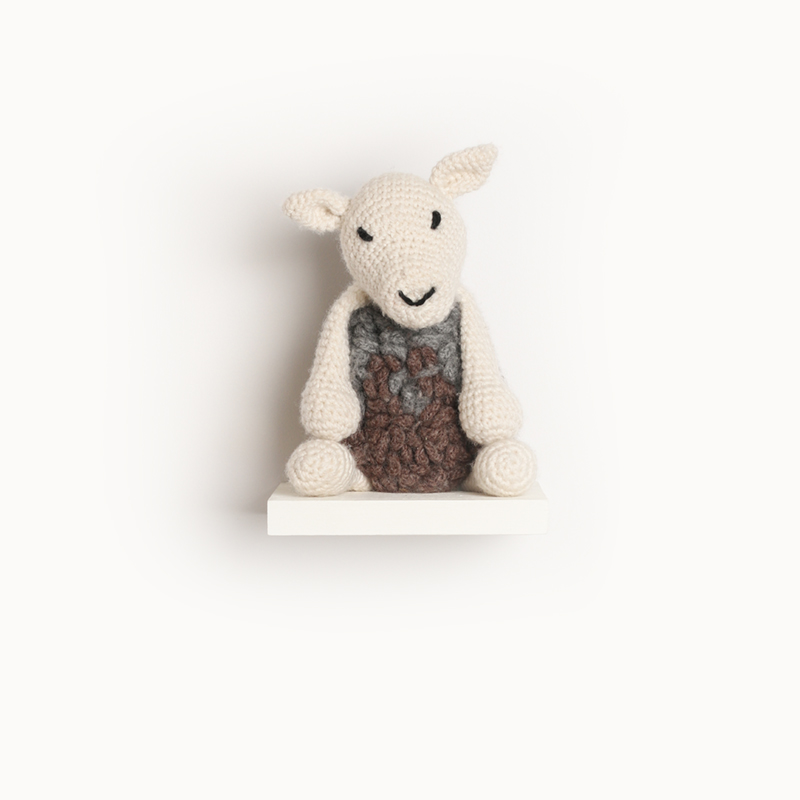 sheep crochet amigurumi project pattern kerry lord Edward's menagerie