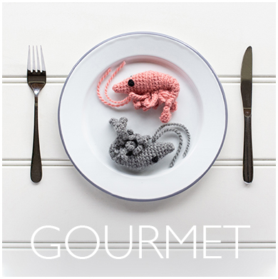 Gourmet Crochet Kits from TOFT