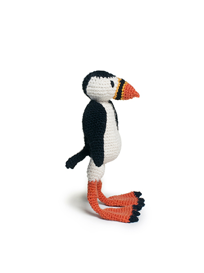 toft ed's animal gareth the puffin amigurumi crochet